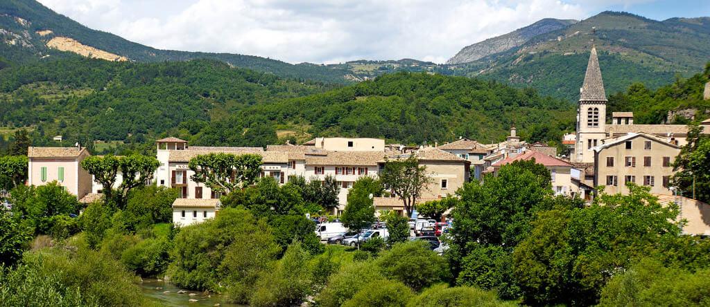 Castellane - Starting point of Verdon Gorge