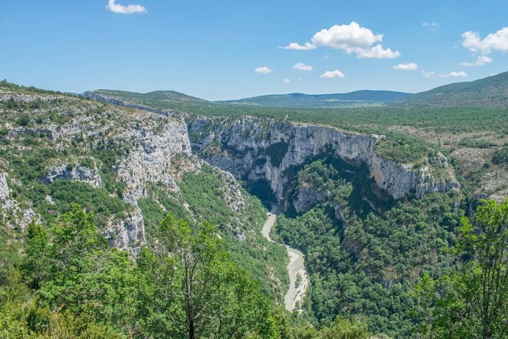 View of Verdon Gorge