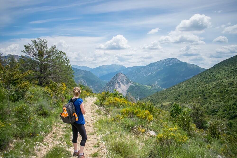 First Day walking - Verdon Gorge